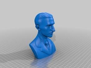 Nikola Tesla Sculpture / Bust