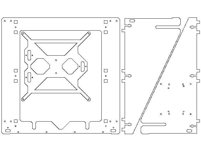 Sgraber Prusa I3 Laser Cut 10mm By Odino Thingiverse