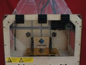 Spool Arm to fit CTC / Flashforge Printer walls