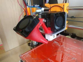 Cooling Fan Duct for CTC Printer (MK8 Extruder)