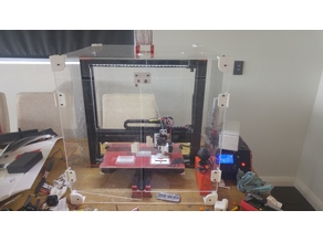Acrylic 3D Printer Enclosure/Case/Cover