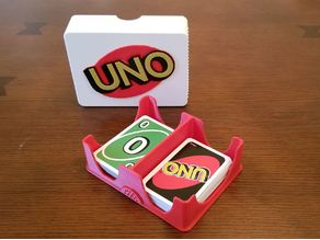 Remixing UNO Deck box to survive my roughneck kids