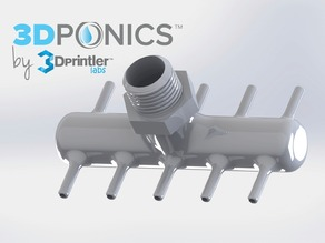 Pump Connector - 3Dponics Vertical Garden