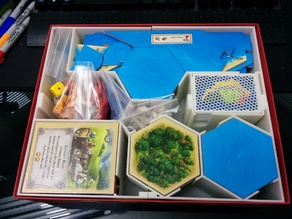 Catan Box Insert (Base game & Seafarers)
