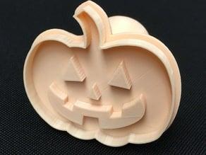 Pumpkin Play Dough Stamp