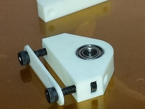 Replicator/FF Y-Shaft Pillow Block, with drill guide