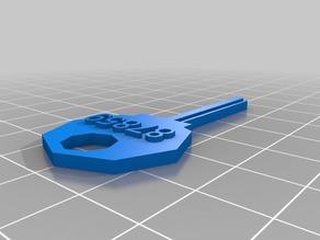 My Customized House / Padlock Key