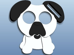Pug Headphone Wrap