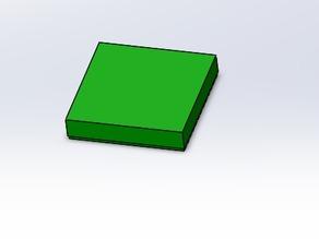 Lego flat tile 2x2