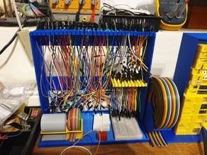 Jumper wire stand