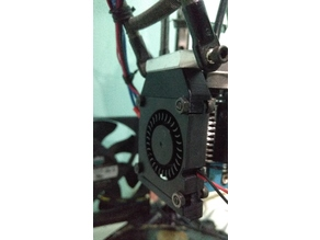 4010 Blower Fan Bracket for M3 Metal Effector