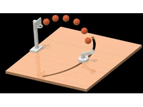 DESKTOP BASKETBALL (3D printed)