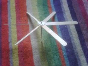 Turbine Hub / Toungue Depressor Whirlygig