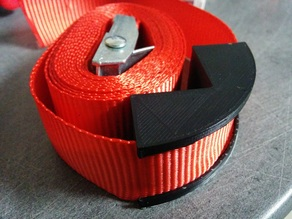 Strap clamp to keep things square