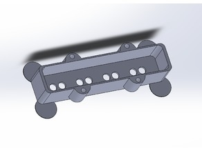 Jazz bass pickup cover (single coil)