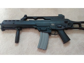 Airsoft G36 to M4 Mag Adapter