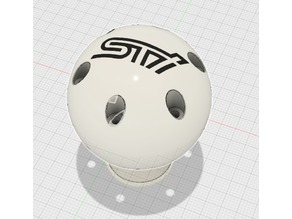 50mm STI Reverse Lockout Shift Knob Remix