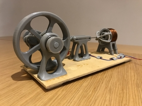 Motor Solenoide / Solenoid Engine