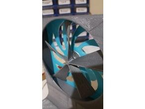 Iron soldering vacuum fan