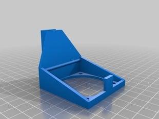 Fan mount for Ultimaker (parametric!)