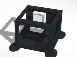 3d printer printing record player