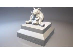 Demonic Pig Statue (HighPoly) v.1