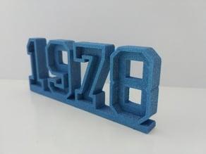 1978 Year