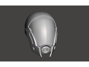 Tali Mass Effect Helmet