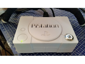 PiStation 3 - Retropie with PWM controlled Fan, Multi-use Button and Activity LED