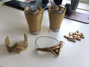 Wonder Woman Bracers