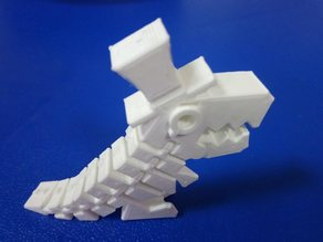 Sir Flexi Rex with movable jaw