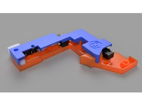 "Trigger Group Kit for Nerf INFINUS - MK1 (UPDATED 6.9.19 - ""MK1D"")"
