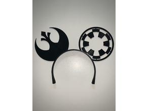 Star Wars Ears - Rebel Alliance/Galactic Empire