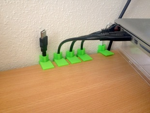 Customizable Cable Holder
