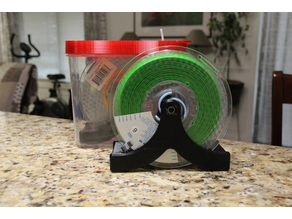 Spool Holder / Rubbermaid Case