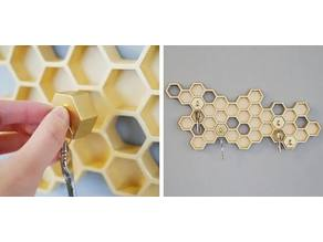 Honey Comb key Holder ver2