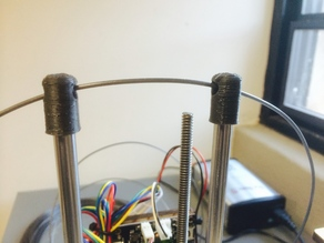 Printrbot Simple Filament Guide (for any 8mm Rod)
