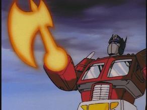 Energy Ax - Optimus Prime