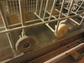wheel for automatic dishwasher