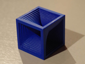 (Cube in a cube)**10