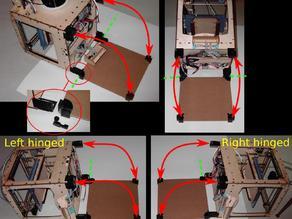4-way hinged baseplate