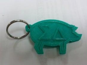 Sigma Delta keychain