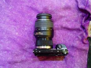 Sony E-Mount body to Nikon F-Mount Lens adapter