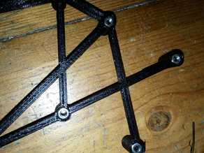Mosfet & mainboard support frame for Anet A8