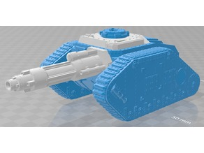 Destroyer Tank Hunter / Thunderer like vehicle conversion - WH40k