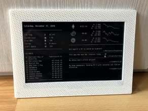 Rasperry Pi Zero 7.5 eInk Waveshare Frame/Case