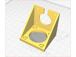 Ender 3 Extruder 90 angle mount ( for BDTech clone dual drive extruder or else )