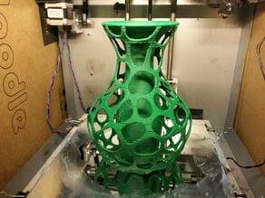 Hybrid Core Vase, Voronoi exterior