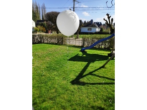 "Parametric balloon stick holder (big 36"" balloons)"