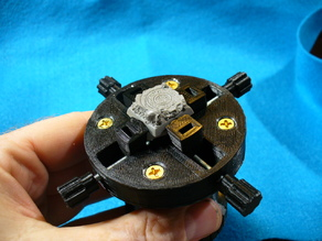 Four Jaw Miniature Clamp